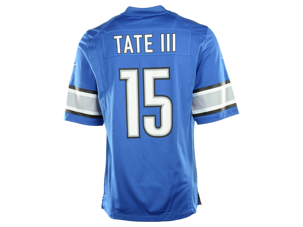 GAME Detroit Lions Golden Tate Jerseys