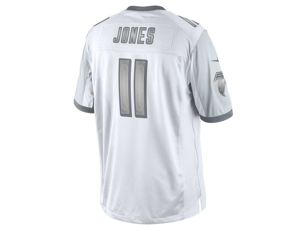 Jerseys NFL Sale - Atlanta Falcons Julio Jones Nike NFL Men's Platinum Jersey | lids.com