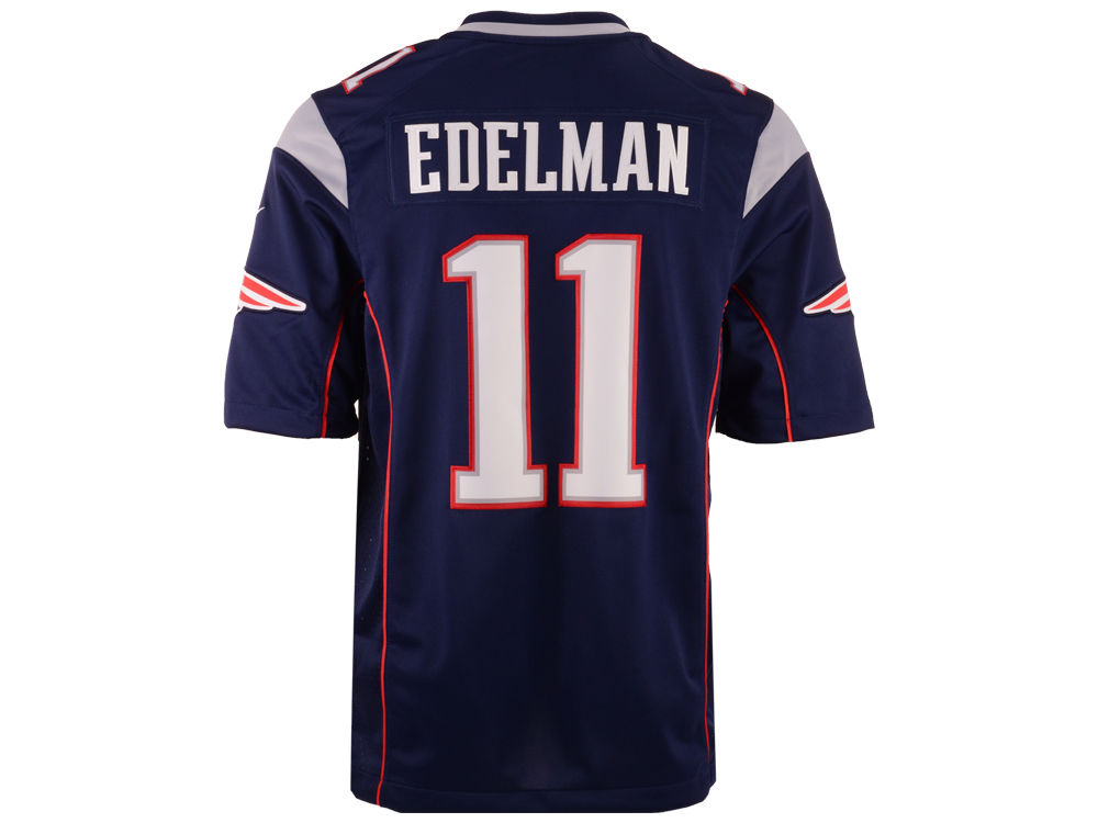 New England Patriots Julian Edelman Nike NFL Men's Limited Jersey ...