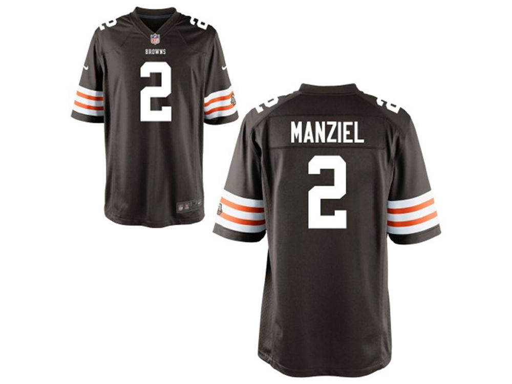 Cleveland Browns Johnny Manziel NFL Youth Game Jersey | lids.com