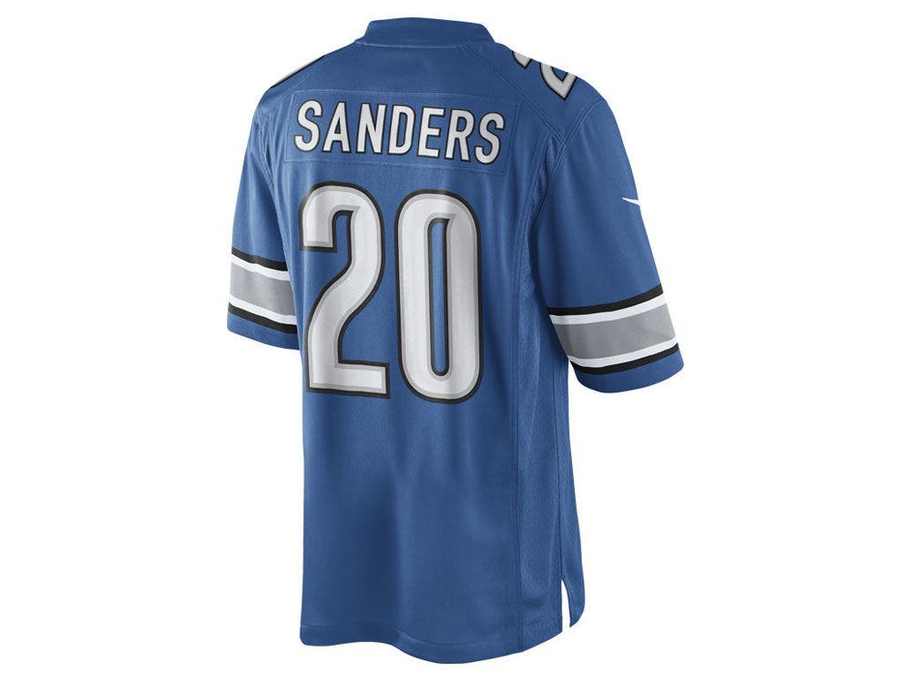 Men's Detroit Lions Majestic Blue Big & Tall Power Hit Long Sleeve T-Shirt