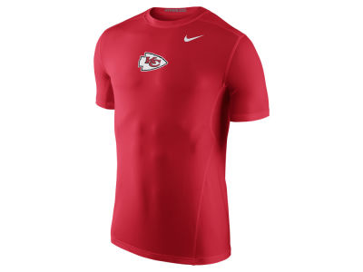 Men's Kansas City Chiefs Nike Red Hypercool Fitted Performance T-Shirt