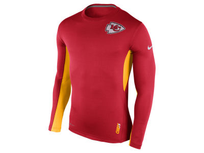 e026425c1 Men s Kansas City Chiefs Nike Red Hypercool Fitted Performance T-Shirt
