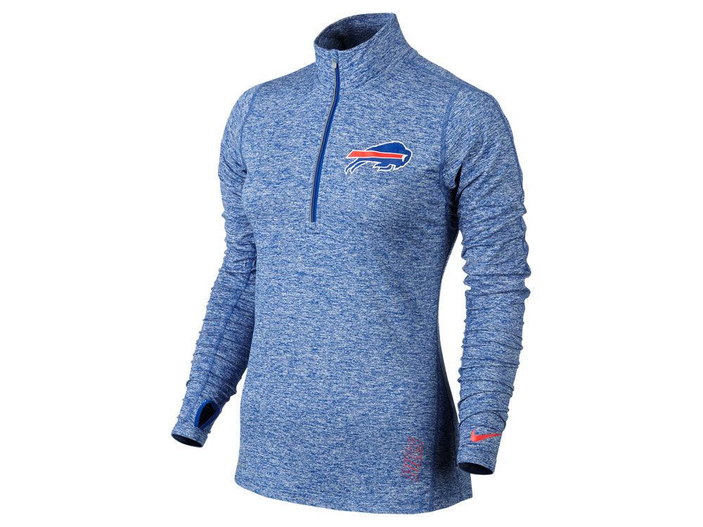 Buffalo Bills Nike NFL Women's Stadium Element 1/4 Zip Pullover ...
