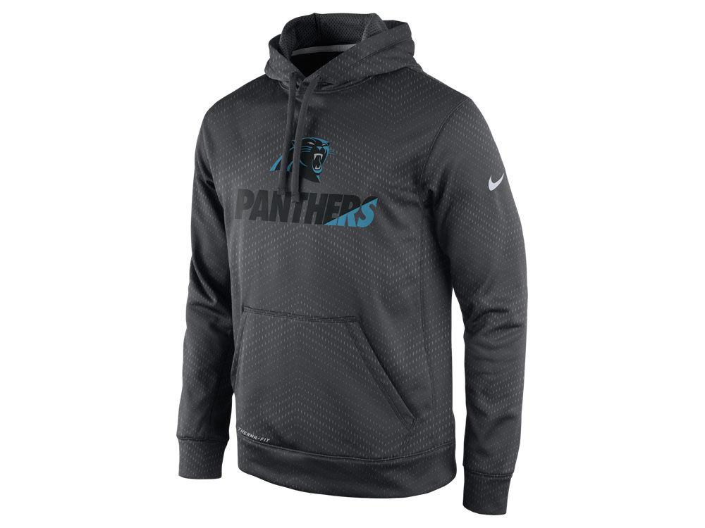 Carolina Panthers Nike NFL Men's Sideline KO Fleece Hoodie | lids.com