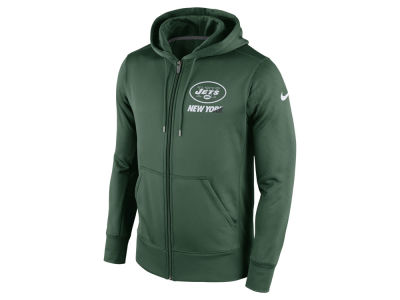Nike New York Jets Authentic Logo Hoodie Navy Blue