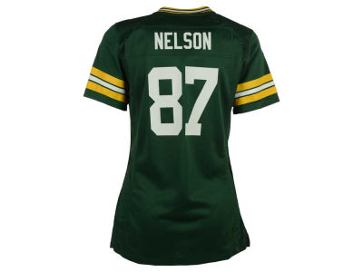 NFL Jersey's Youth Green Bay Packers Jordy Nelson Nike Anthracite Salute to Service Game Jersey