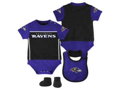 Baltimore Ravens Infant Football Jersey and Pants Set - Purple