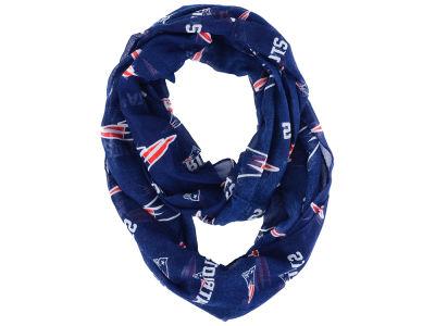Men's New England Patriots Woven Poly Grid Tie