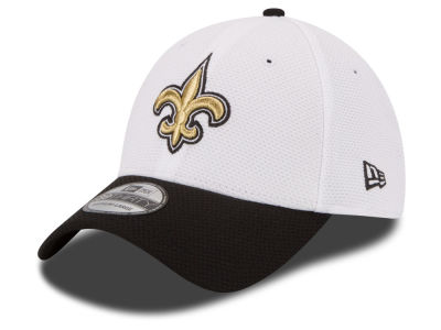 Women's New Orleans Saints New Era Gray Breast Cancer Awareness 9TWENTY Adjustable Hat