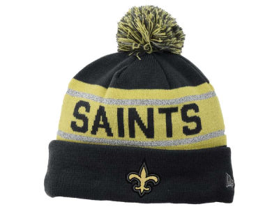 Toddler New Orleans Saints Black Tassel Knit Hat With Pom 1d6a28e47