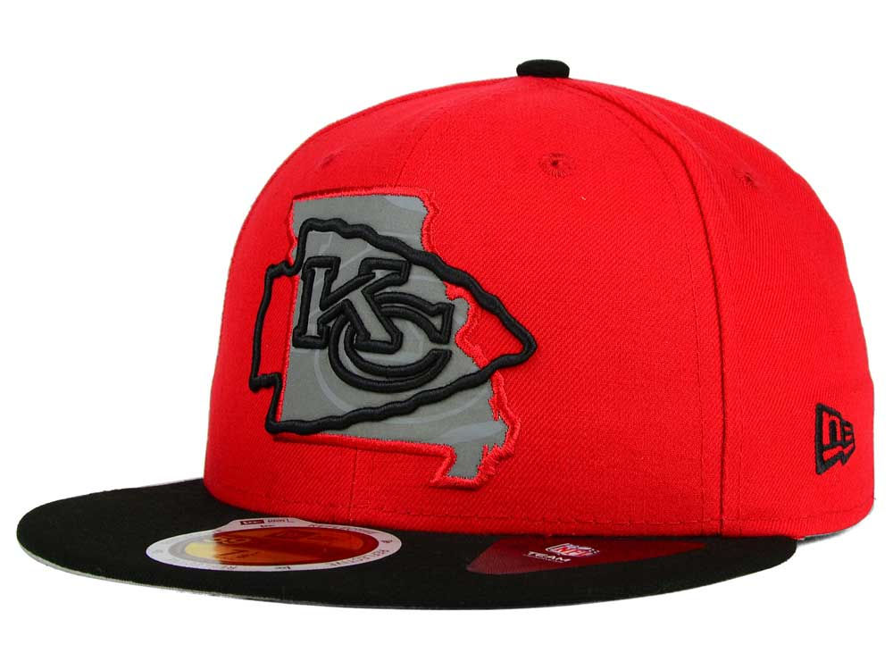 Kansas City Chiefs NFL Fitted Hats, Fitted Caps | lids.com