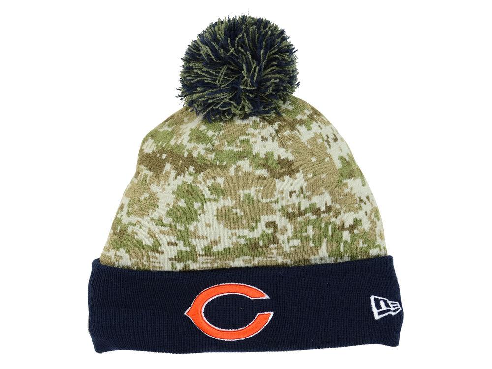 Chicago Bears New Era NFL 2015 Salute to Service Knit   lids.com