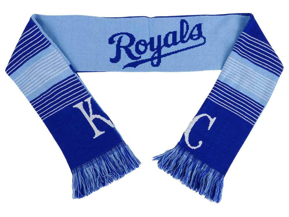 Kansas City Royals Acrylic Knit Scarf Reversible Split Logo | lids.com