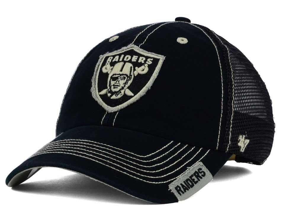 Oakland Raiders '47 NFL Turner Mesh '47 CLEAN UP Cap   lids.com