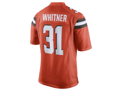 NFL Jersey's Men's Cleveland Browns Nike Brown Custom Game Jersey