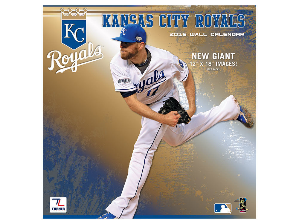 Kansas City Royals 2016 12x12 Team Wall Calendar | lids.com