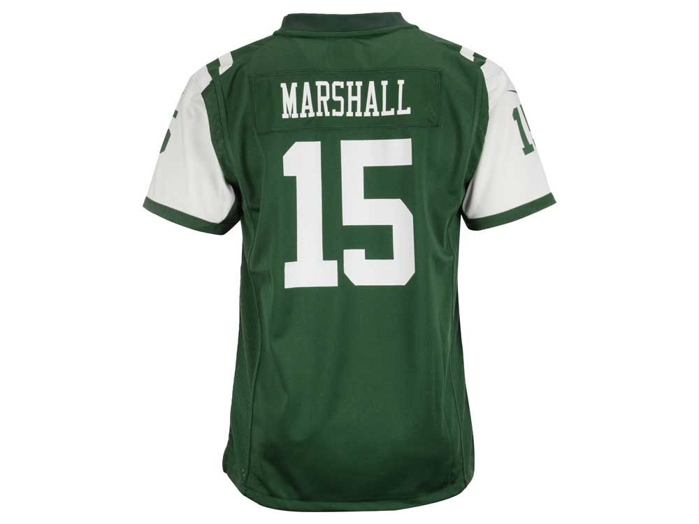 NFL Jersey's Youth Chicago Bears Brandon Marshall Nike Navy Blue Game Jersey