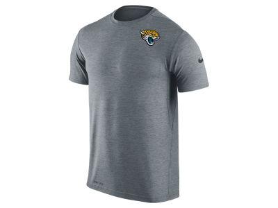 Men's Jacksonville Jaguars Majestic Black Big & Tall Shed Blockers Heather Long Sleeve T-Shirt