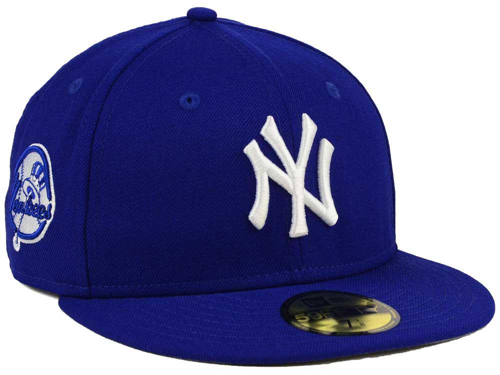 Men's New York Giants New Era Royal Vintage Clean Original Fit 9FIFTY Adjustable Hat