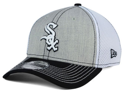 Indianapolis Colts New Era White NFL White Front Neo 39THIRTY Flex Hat