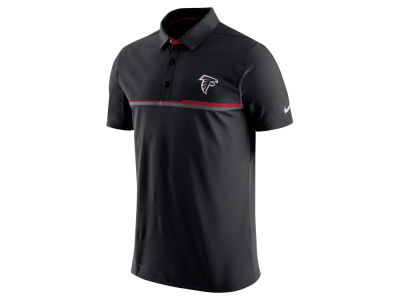 Mens Atlanta Falcons Black Front and Sleeve Full Zip Jacket