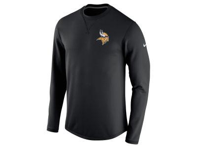 Youth Girls Minnesota Vikings 5th & Ocean by New Era Gray Go Team Tri-Blend V-Neck T-Shirt