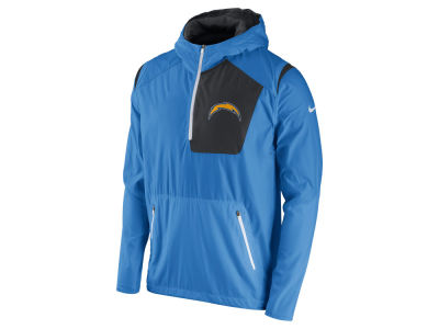 Women's San Diego Chargers White Sideline Track Full Zip Jacket