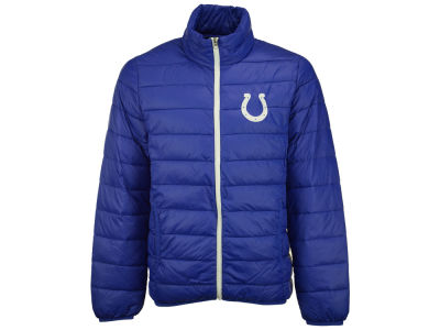 Men's Indianapolis Colts Majestic Royal Big & Tall Shed Blockers Heather Long Sleeve T-Shirt