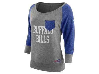 Women's Buffalo Bills #34 Thomas Blue Stitched Jersey