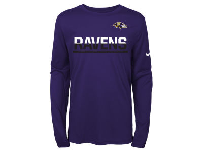 Nike Baltimore Ravens Just Do It T-Shirt - Purple