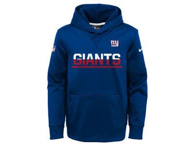 New York Giants Youth Girls Fleece Pants - Charcoal