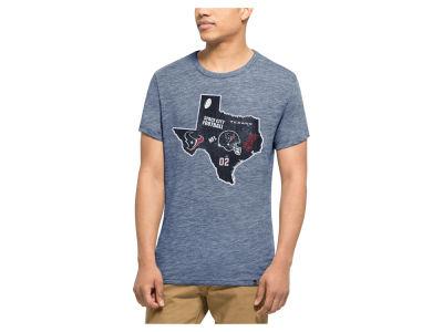 Women's Houston Texans '47 Brand Navy Courtside Long Sleeve T-Shirt