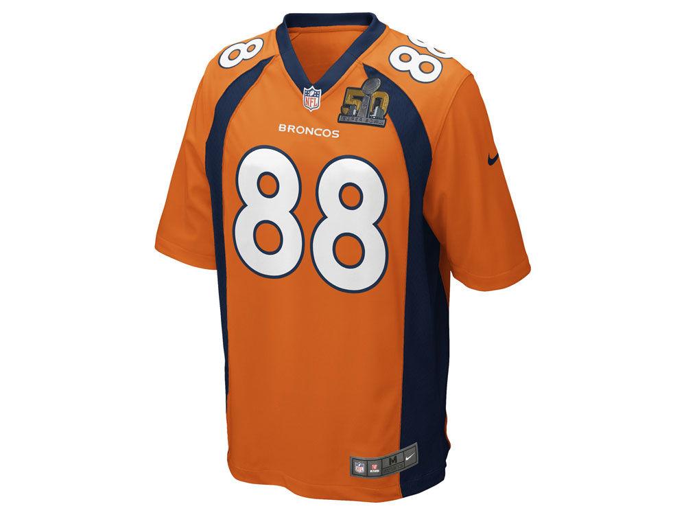 Denver Broncos Demaryius Thomas Nike NFL Men's Super Bowl 50 Patch ...