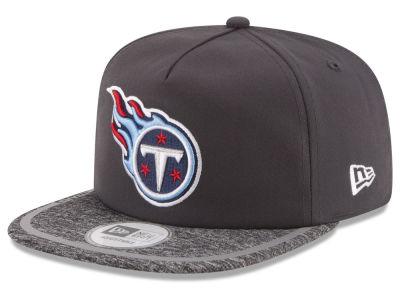 Women's Tennessee Titans New Era White Glitter Glam 9FORTY Adjustable Hat