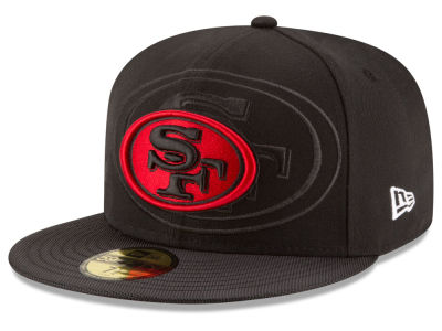 Youth San Francisco 49ers New Era Scarlet/Graphite Gold Collection On Field 39THIRTY Flex Hat