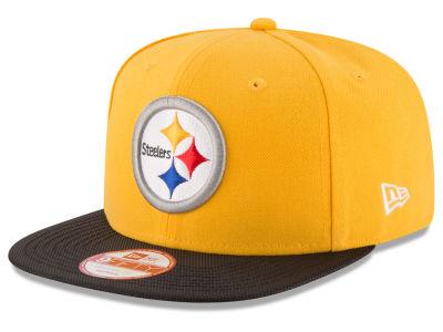 Men's Chicago Bears New Era Orange NFL 2Tone Throwback Original Fit 9FIFTY Adjustable Hat