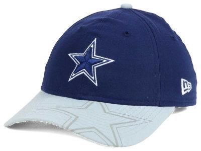 Women's New York Jets New Era White Glitter Glam 9FORTY Adjustable Hat