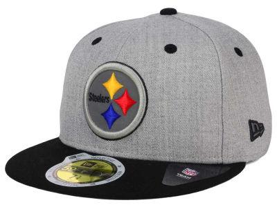 Pittsburgh Steelers Youth Girls Military Snapback Hat - Black
