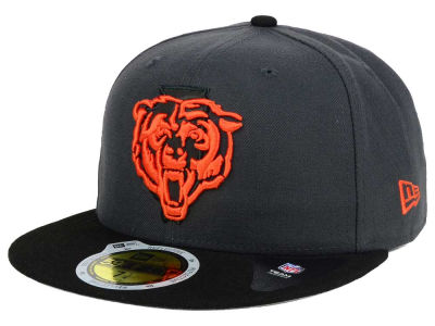 Men's Chicago Bears New Era Navy On The Fifty Super Bowl Gold Team Logo 59FIFTY Fitted Hat