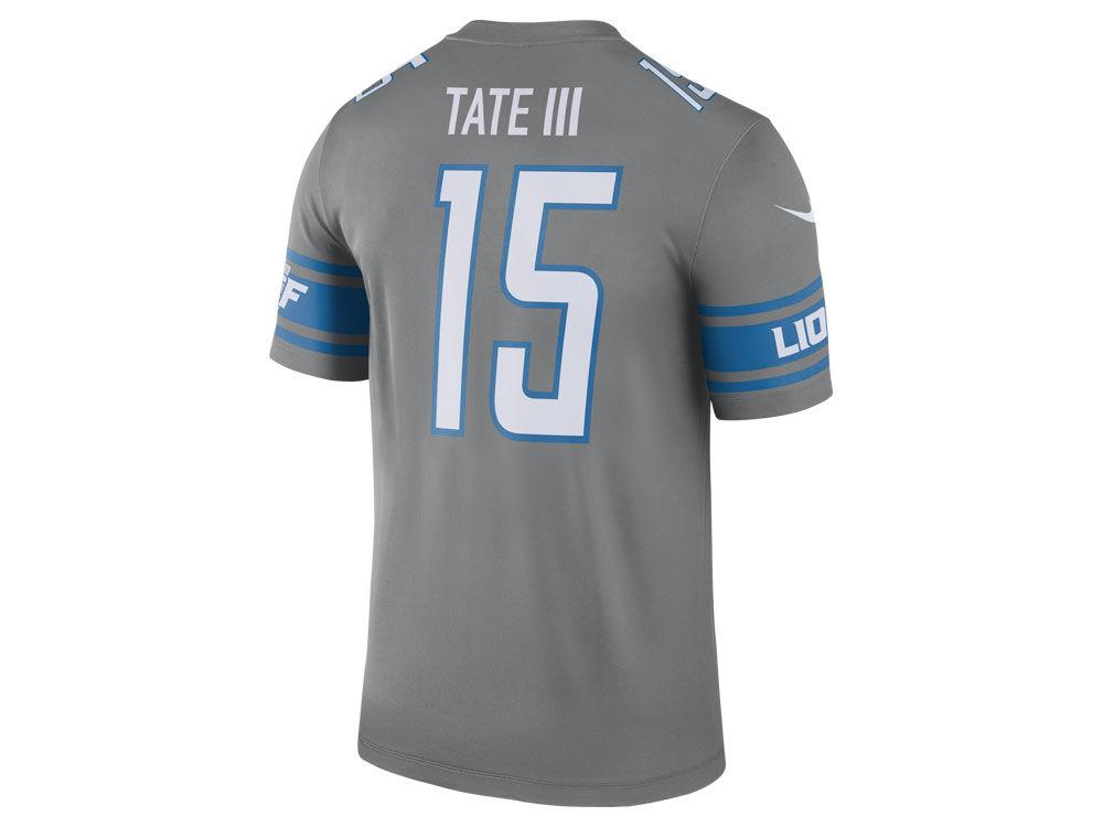 Detroit Lions Golden Tate III Nike NFL Men's Legend Color Rush ...