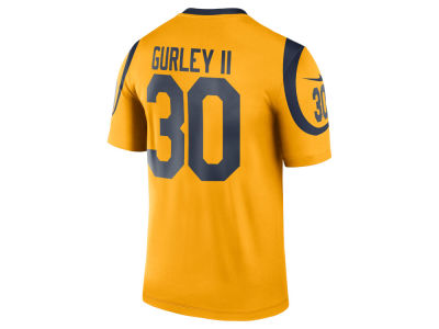 NFL Jersey's Youth Los Angeles Rams Todd Gurley Nike Anthracite 2016 Salute to Service Game Jersey
