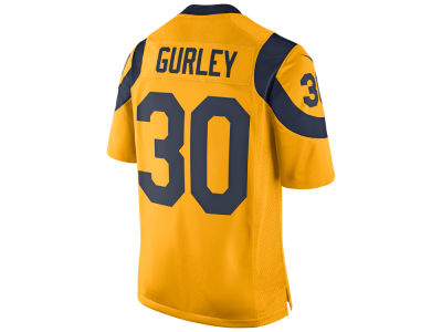 Men's Nike Los Angeles Rams #91 Chris Long Royal Blue Alternate Elite Stitched NFL Jersey