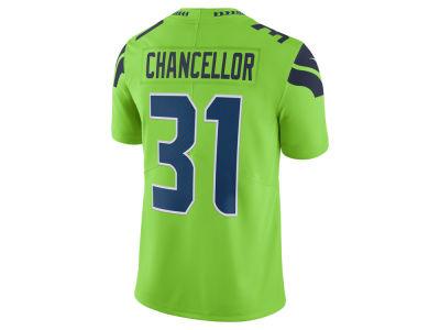 Seattle Seahawks 31 Kam Chancellor Elite Grey Jersey