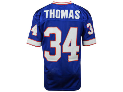 NFL Jersey's Mens Buffalo Bills Thurman Thomas Mitchell & Ness Royal Blue Retired Player Vintage Replica Jersey