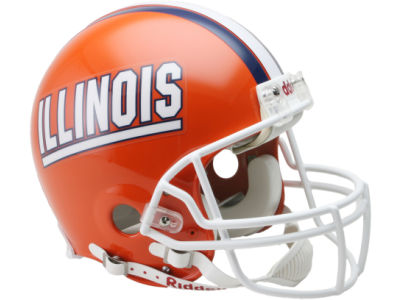 Illinois Fighting Illini NCAA Mini Helmet