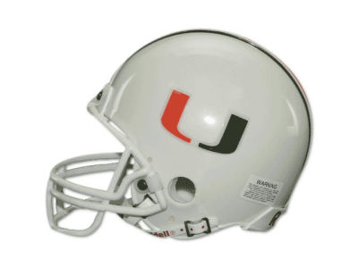 Miami Hurricanes NCAA Mini Helmet
