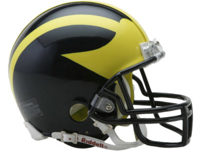 Michigan Wolverines NCAA Mini Helmet