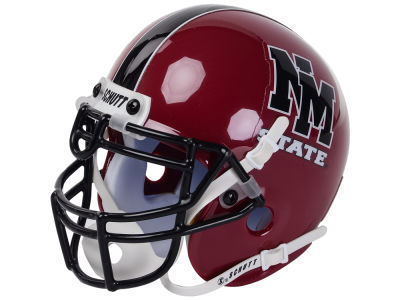 New Mexico Lobos Riddell NCAA Mini Helmet