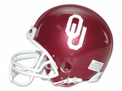 Oklahoma Sooners NCAA Mini Helmet